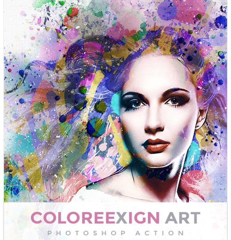 ColoreeXign Art Photoshop Action
