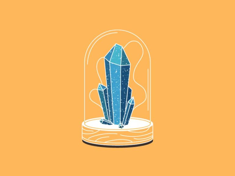 How to Create a Crystal Formation Illustration in Adobe Illustrator