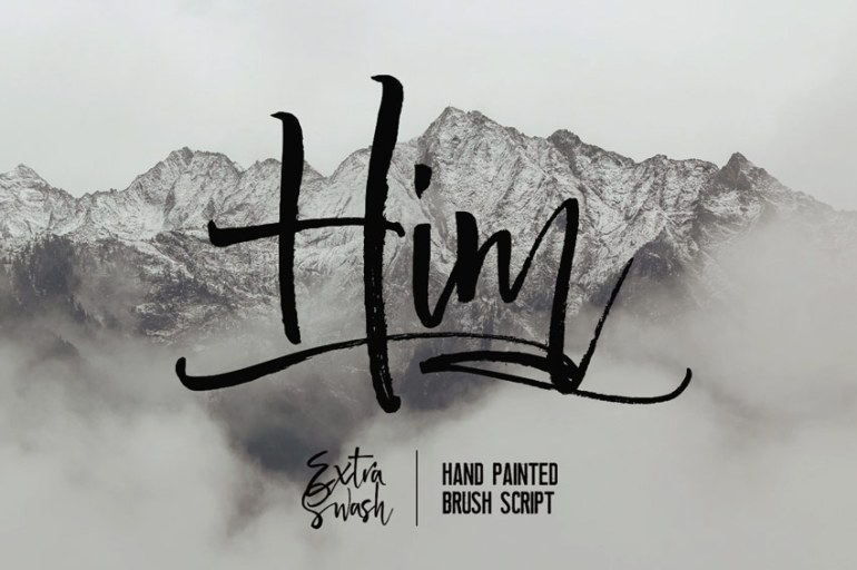 Him Handwriting Font