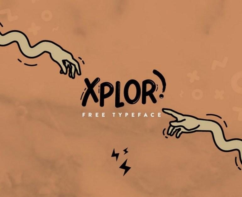 Xplor Typeface