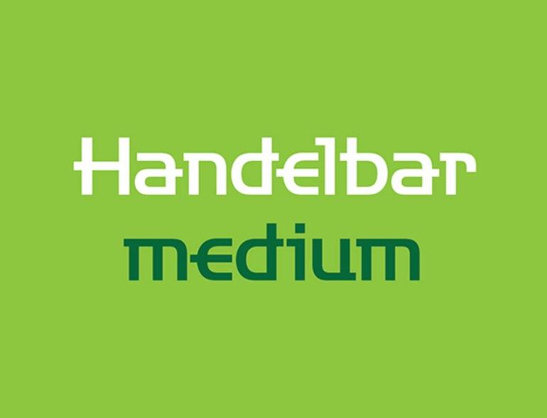 Handelbar Gothic Medium Font