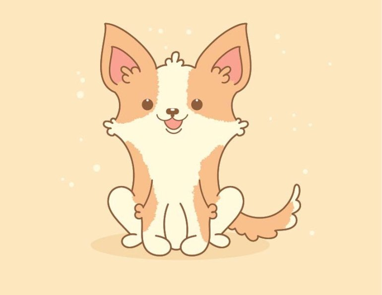 Quick Tip How to Create a Cute Welsh Corgi in Adobe Illustrator