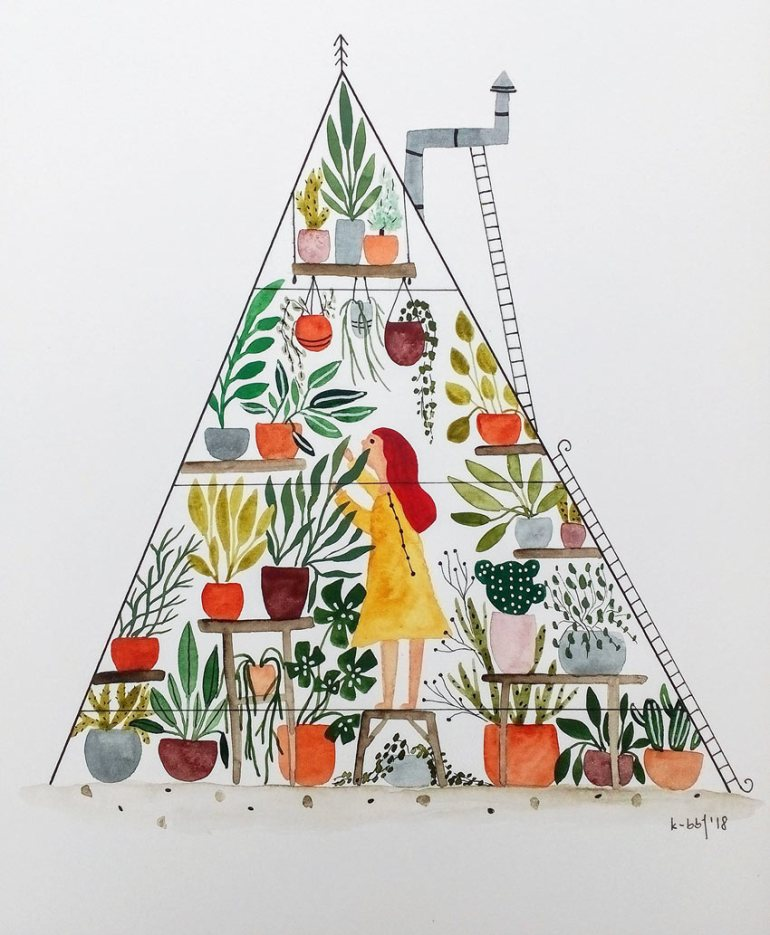 Greenhouse Girl