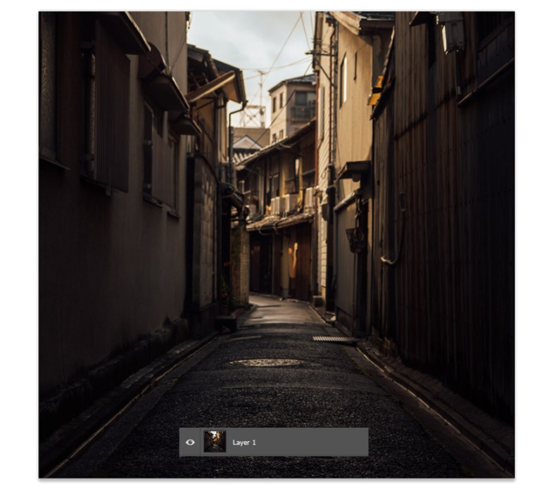 Add the alley