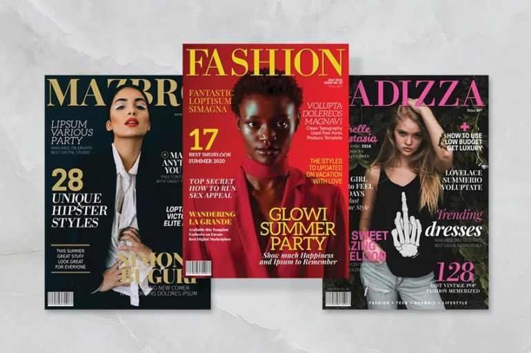 3 Magazine Covers