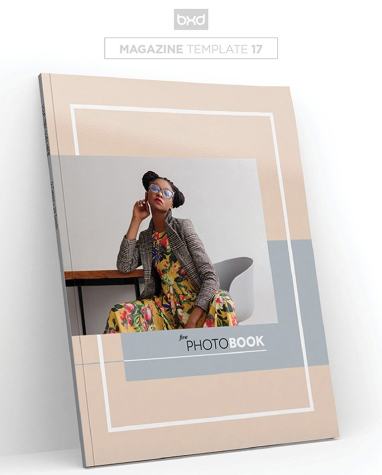 Magazine Lookbook Template
