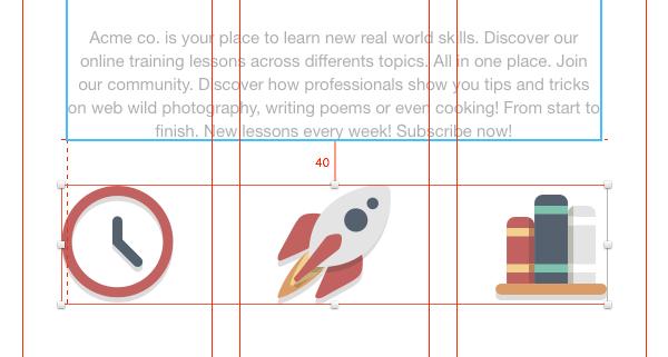 Adding some icons