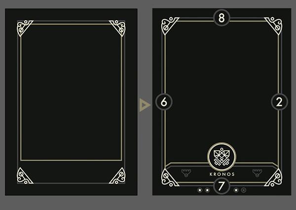 Create A Modern Fantasy Card Design For Eminence Xander39s Tales In Illustrator