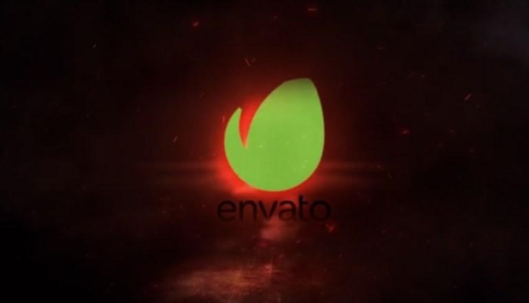 Exploding Logo Reveal