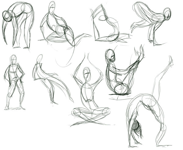 Quick Pose Sketches