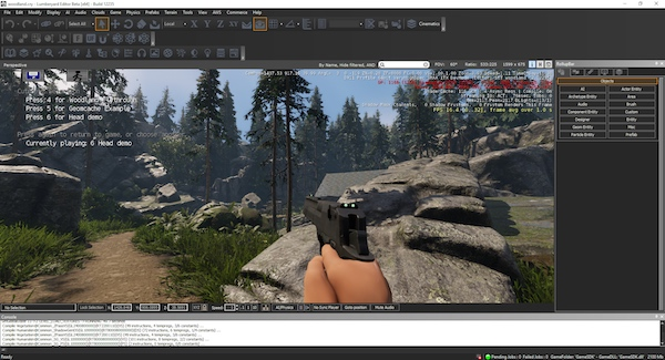 A complete FPS within Lumberyard