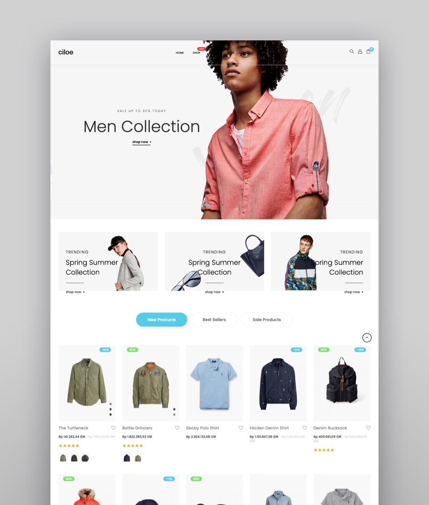 17 Best Shopify Templates for Your Online Store – Unsorted