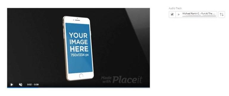 App promo mockup