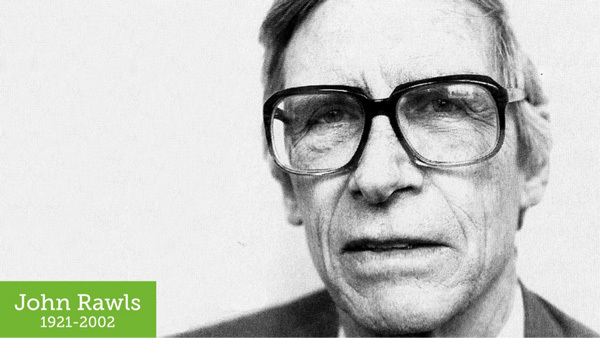 Photo of the philosopher John Rawls 1921 to 2002