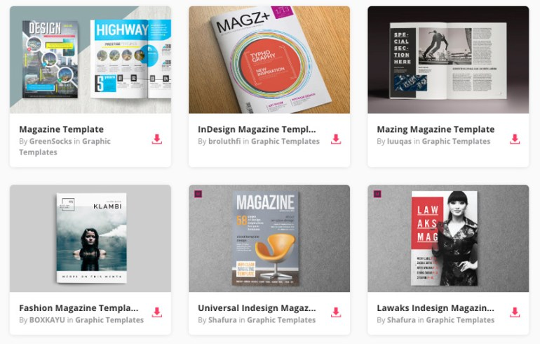 20 Magazine Templates With Creative Print Layout Designs – www 101