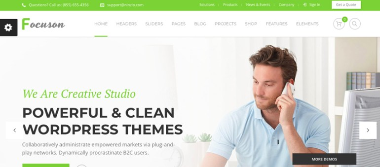 Focuson theme on Envato Elements