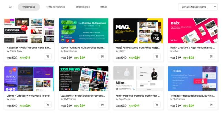 Envato Market sale items