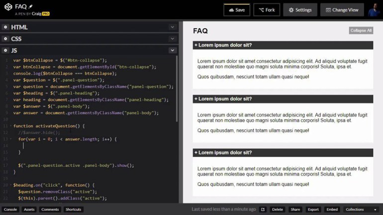 Hiding and showing elements in JavaScript