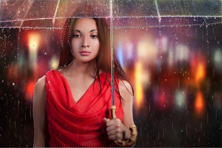 select rain drops