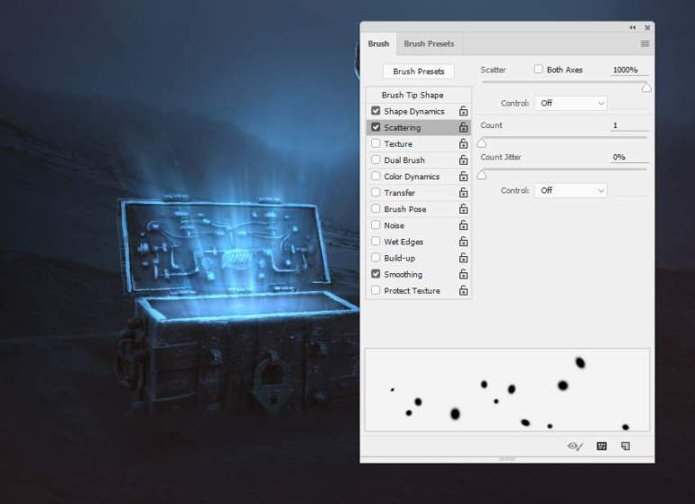 dot brush settings 3