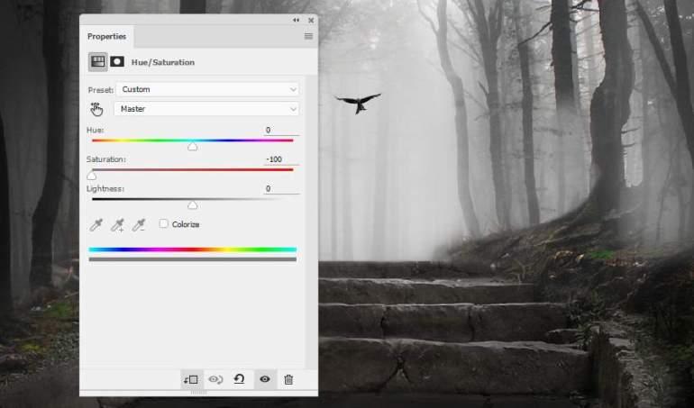 bird hue saturation