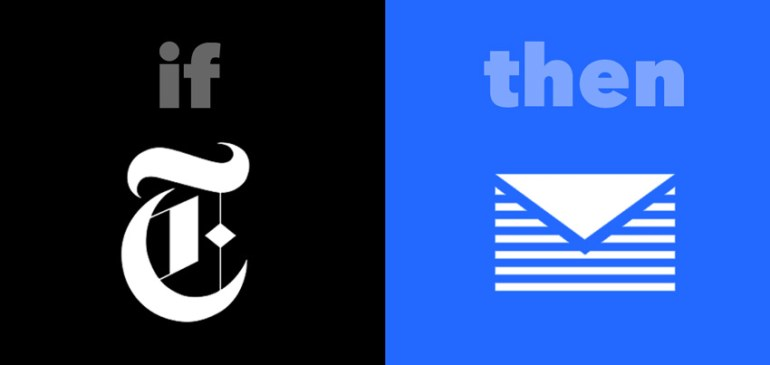 getting news ifttt recipe