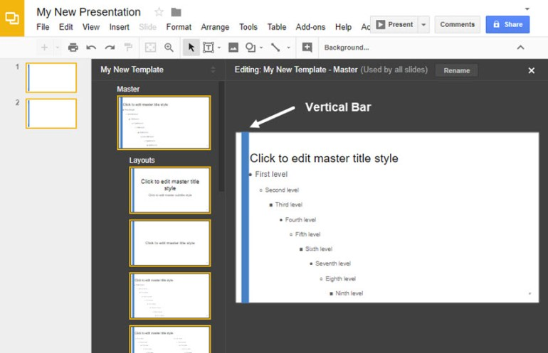 how to make your own google slides presentation template www 101