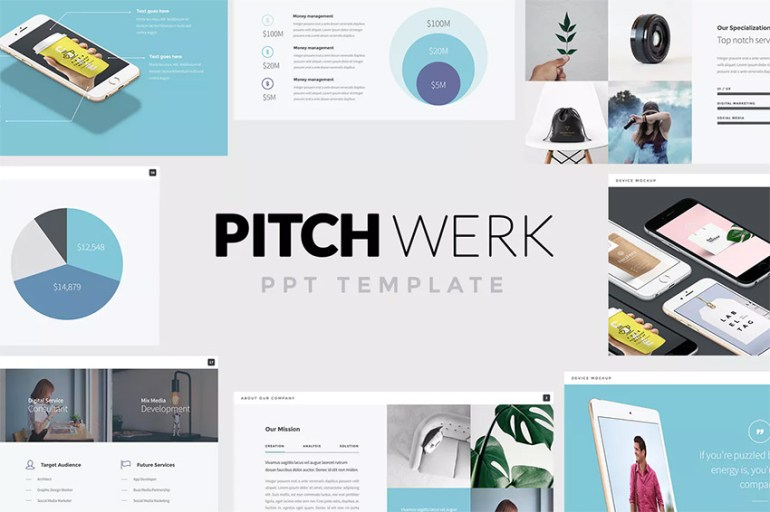 Pitch Werk PPT Template