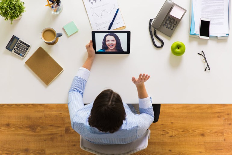 Video job interview