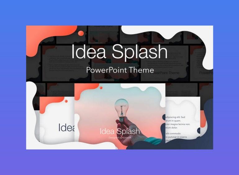 Idea Splash PowerPoint Theme