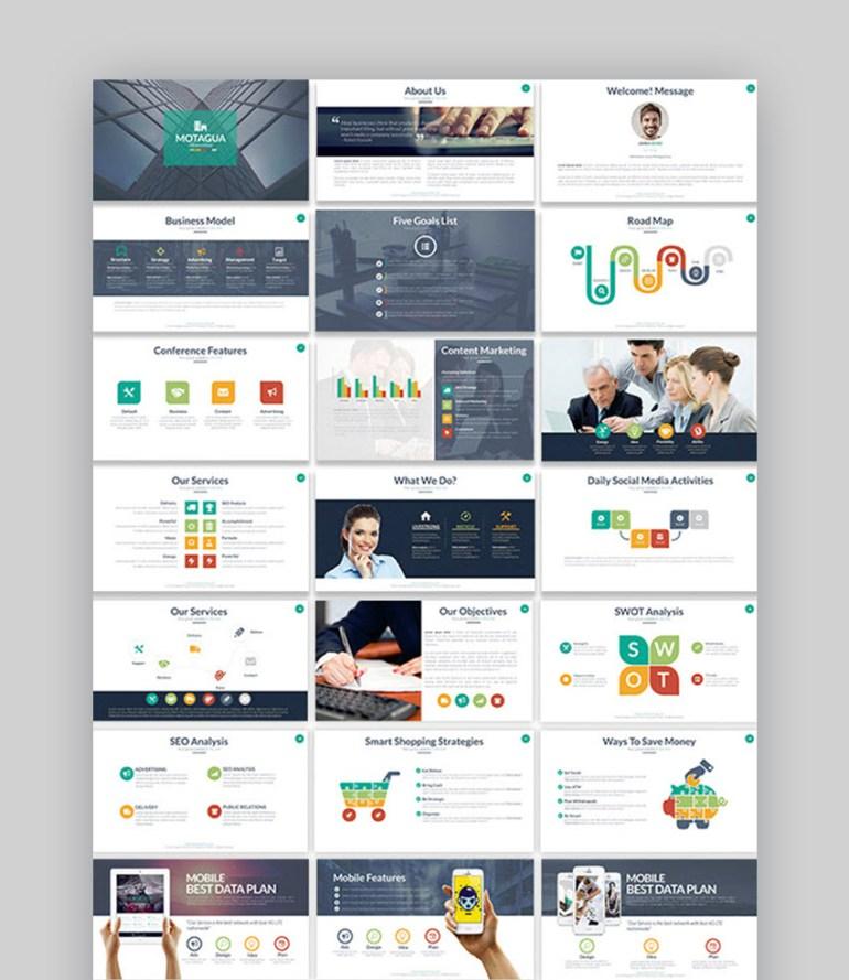 Montagua Multipurpose PowerPoint Template