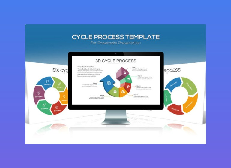 Cycle Process PowerPoint Template