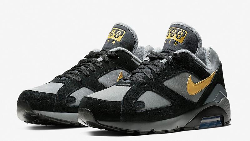 nike air max 180 black grey