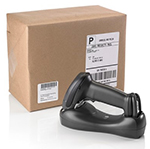 tracking parcel with cordless barcode scanner