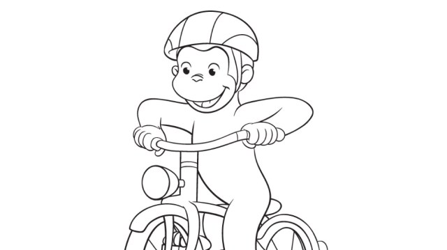 Bicycle Coloring Page  Kids Coloring Pages  PBS KIDS for Parents