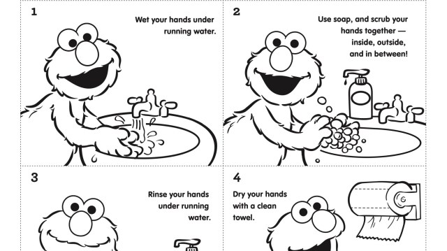 Step by Step Handwashing with Elmo  Kids  PBS KIDS for Parents