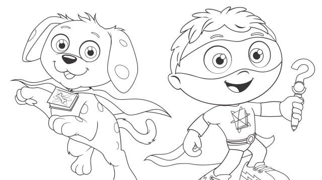 Super Friends! Coloring Page  Kids Coloring  PBS KIDS for Parents