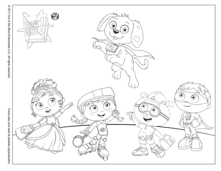 Woofster To The Rescue Coloring Page Kids Pbs Kids For Parents