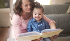 Image result for two year old girl reading book""