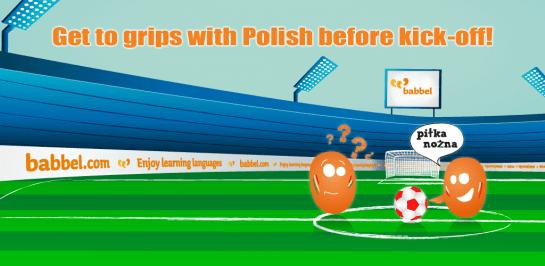 Mistrzostwa Europy 2012 – Getting Ready for Euro 2012 with Babbel