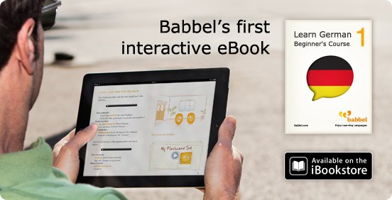 Babbel's interactive eBook
