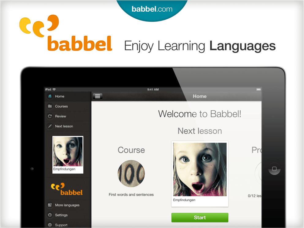The Works! All of Babbel on iPad