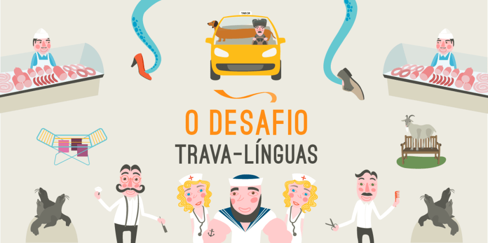 O desafio trava-línguas