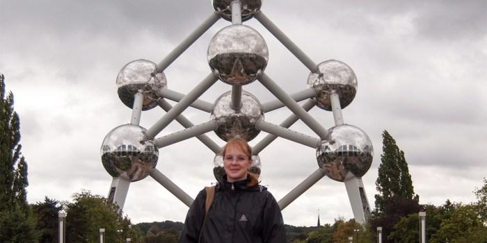 Daniela em Bruxelas