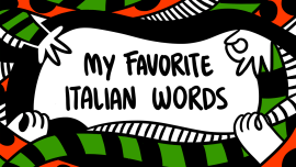 8 Italian Words We Should Be Using in English