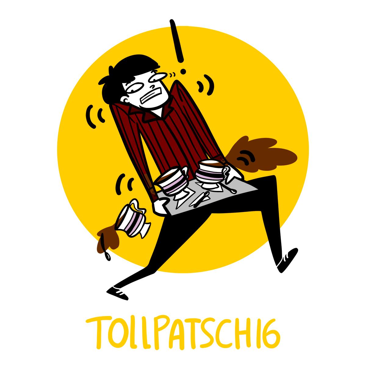 Tollpatschig est un mot allemand particulièrement difficile à traduire en français