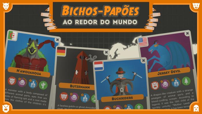 Os bichos-papões ao redor do mundo