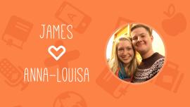 Porträtt: James & Anna-Louisa – en engelsk-svensk kärlekshistoria