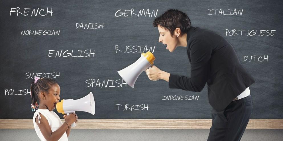 Aprender idiomas como uma criança?