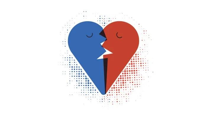 Le français, la langue de l'amour